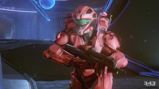 Un spartan de l'équipe rouge
