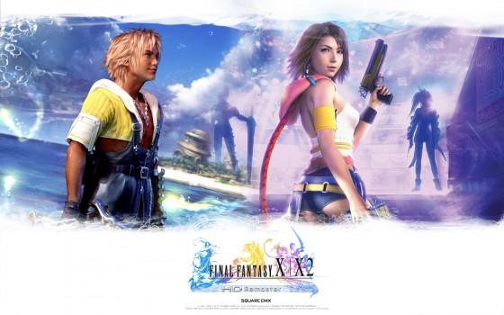 Final Fantasy X X2 HD Remaster jaquette Yuna Tidus