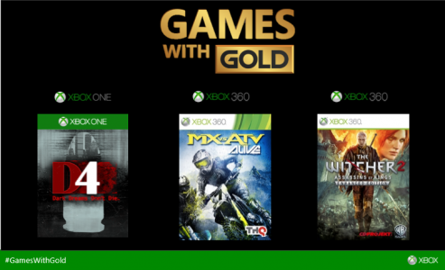 Games With Gold janvier 2015