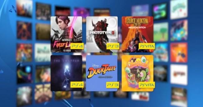 Jeux PlayStation Plus de janvier 2015