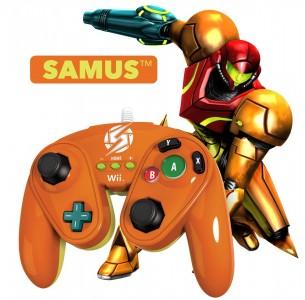 Super Smash Bros - Manette Samus Super Smash Bros