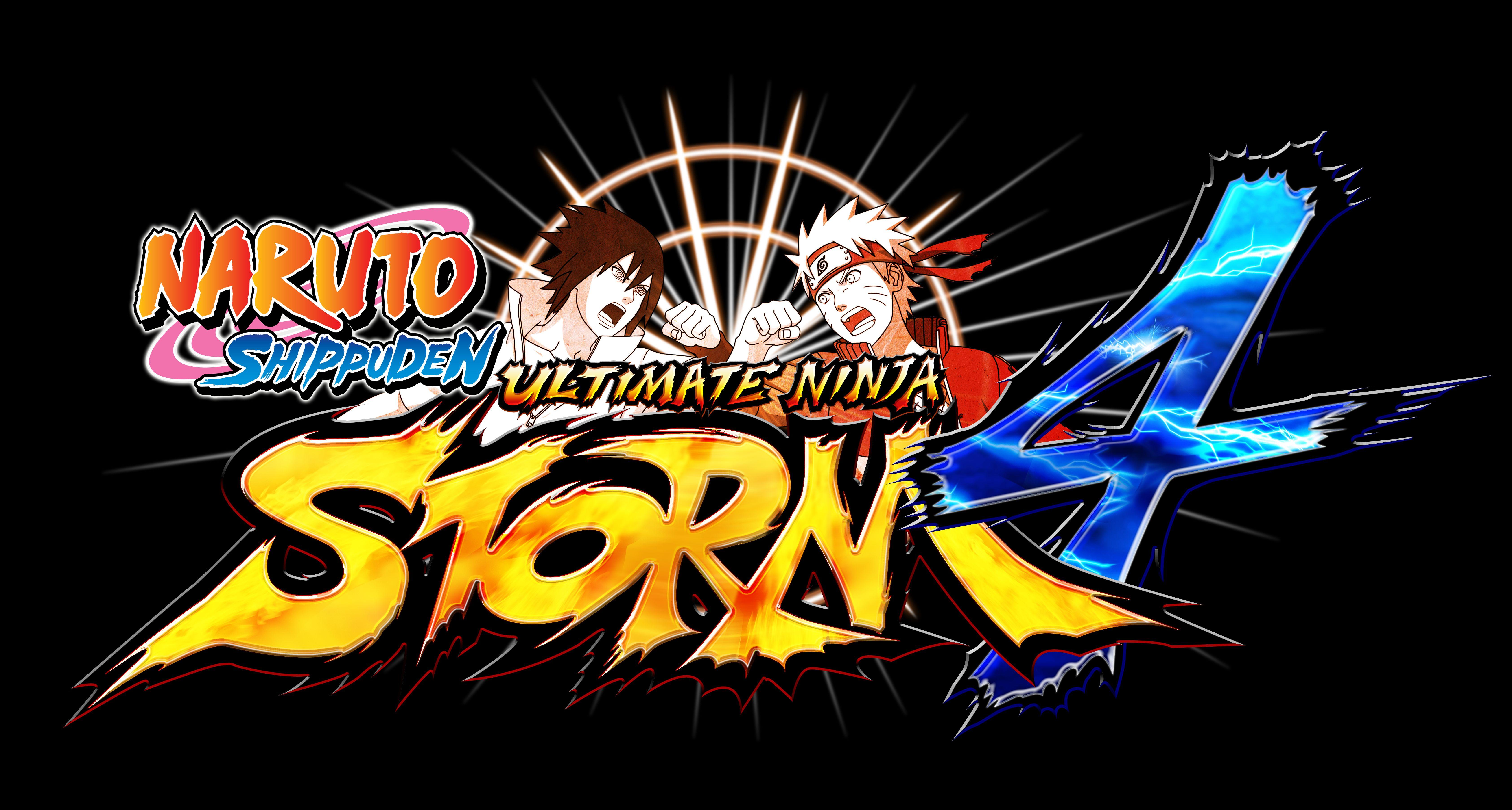 Le logo de Naruto Ultimate Ninja Storm 4