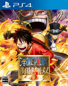 One Piece Pirates Warriors 3 jaquette