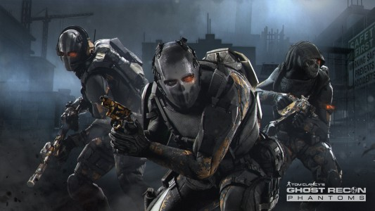Ghost Recon Phantoms camouflage optique