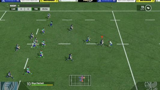 Rugby 15 : en pleine course