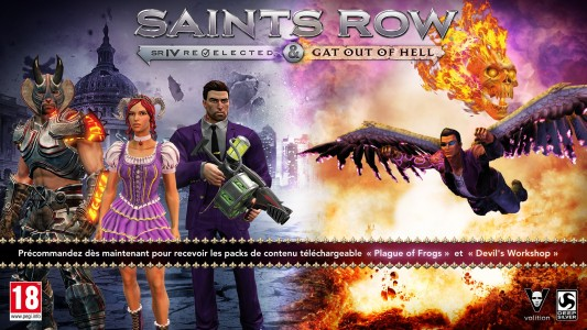 Saints Row Gat out of Hell DLC