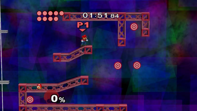 Super Smash bros épreuve cibles