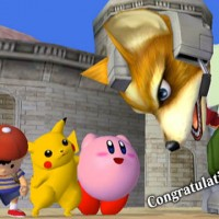 Super Smash Bros Melee Fox géant