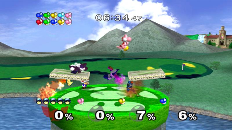 Super Smash Bros. Yoshi