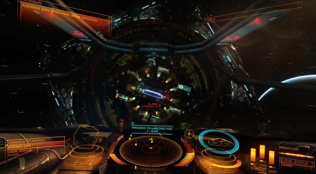 Elite Dangerous - Docking