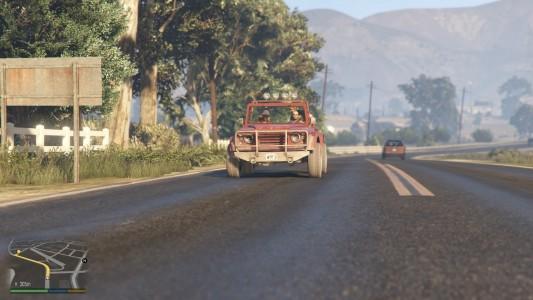 Grand Theft Auto V / Jeep