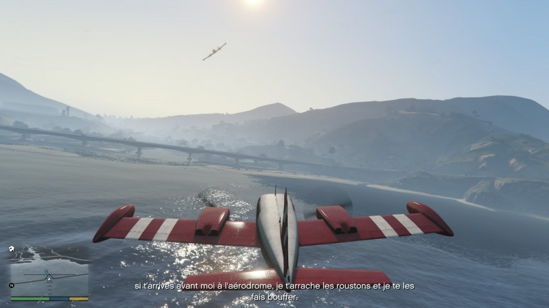 Grand Theft Auto V / Avion