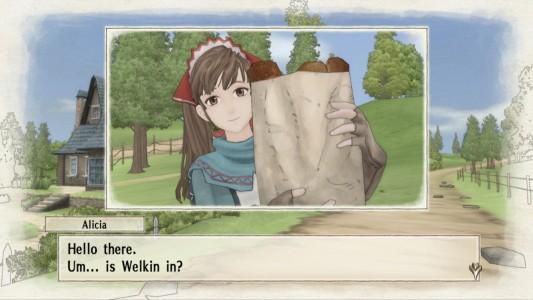 Valkyria Chronicles / Alicia