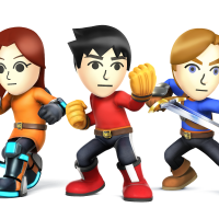 Test Super Smash Bros LightninGamer / Mii