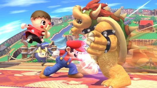 Test de Super Smash Bros / Bowser prend cher