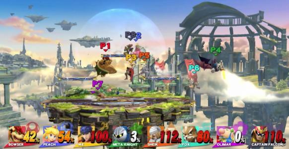 Super Smash Bros / Combat à 8