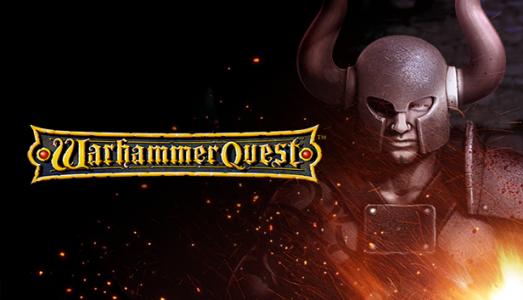 Warhammer Quest logo héros