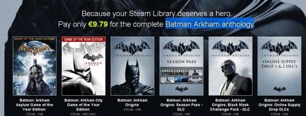 Batman l'offre de folie