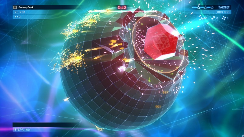 geometry wars 3 - Boss