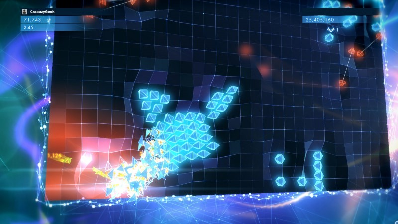 Geometry Wars 3: Dimensions - vague d'ennemis