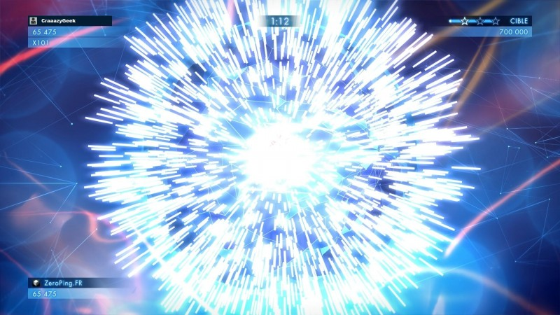 Geometry Wars 3: Dimensions - explosion