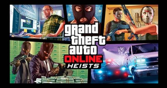 GTA Online du braquage