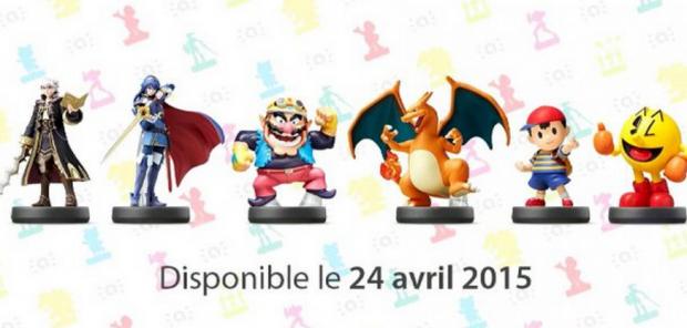 Amiibos de la série Super Smash Bros
