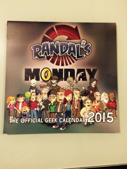 Randal's Monday Calendrier 2015
