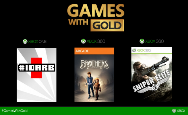 Games with Gold - Février 2015