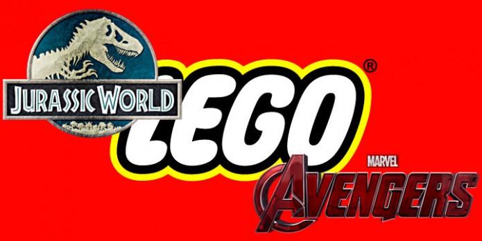LEGO Jurassic World & LEGO Marvel's Avengers