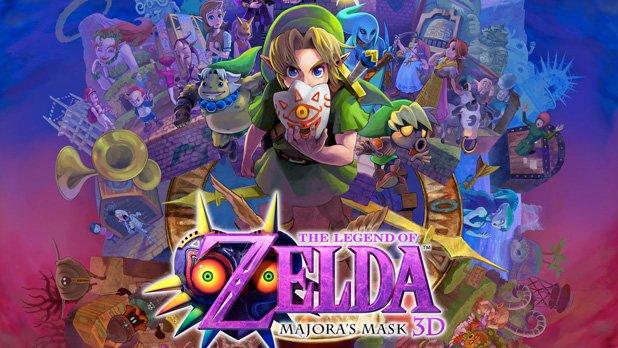 New Nintendo 3DS Zelda Majora's Mask