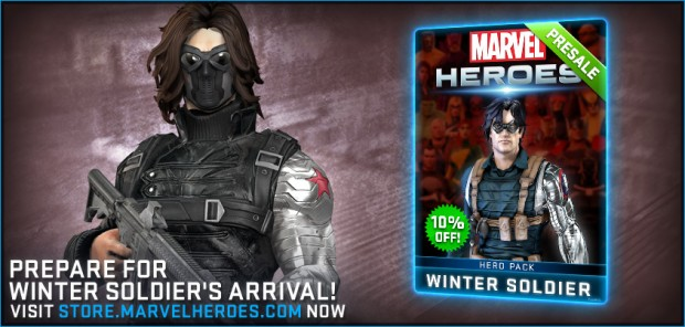 Marvel Heroes 2015 Winter Soldier