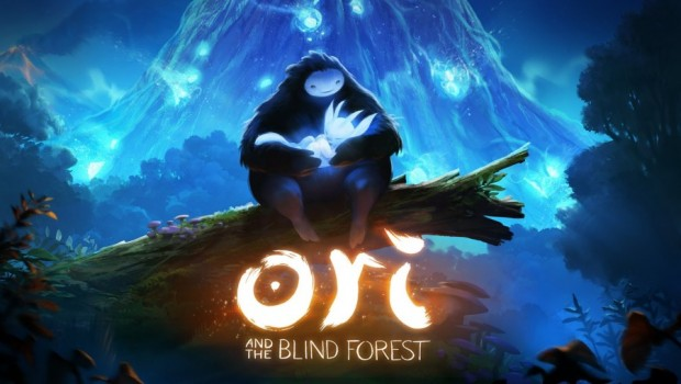 Ori and the Blind Forest logo et personnages principaux