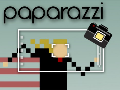 Paparazzi - Le premier jeu du studio Pringo Dingo très pixélisé