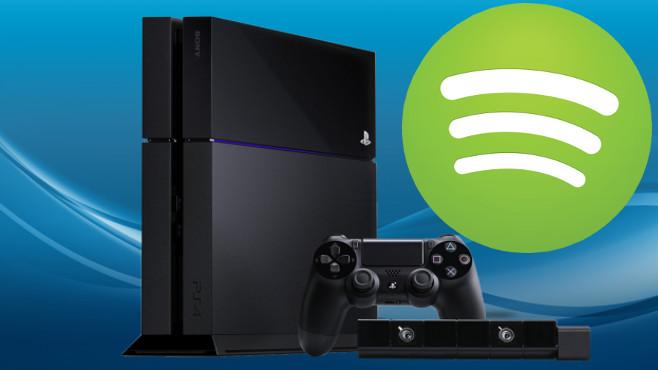 PlayStation 4 - Spotify