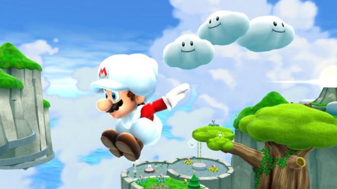 Super Mario Galaxy en mode Nuage