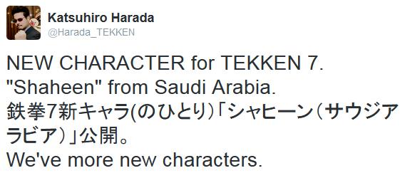 Tekken 7 Twitter