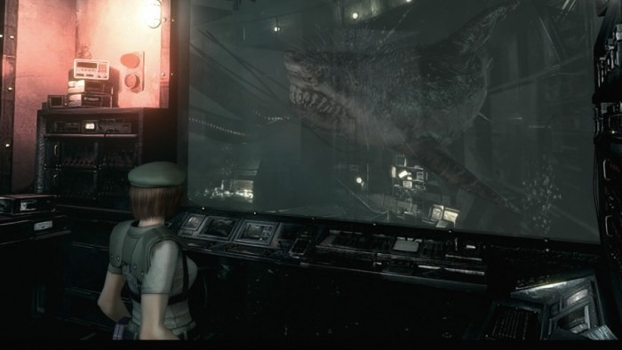 Resident Evil HD Remaster - Requin géant