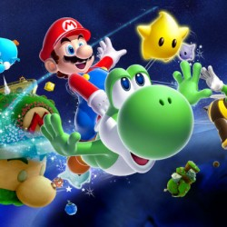 Super Mario Galaxy 2 Yodshi et Mario
