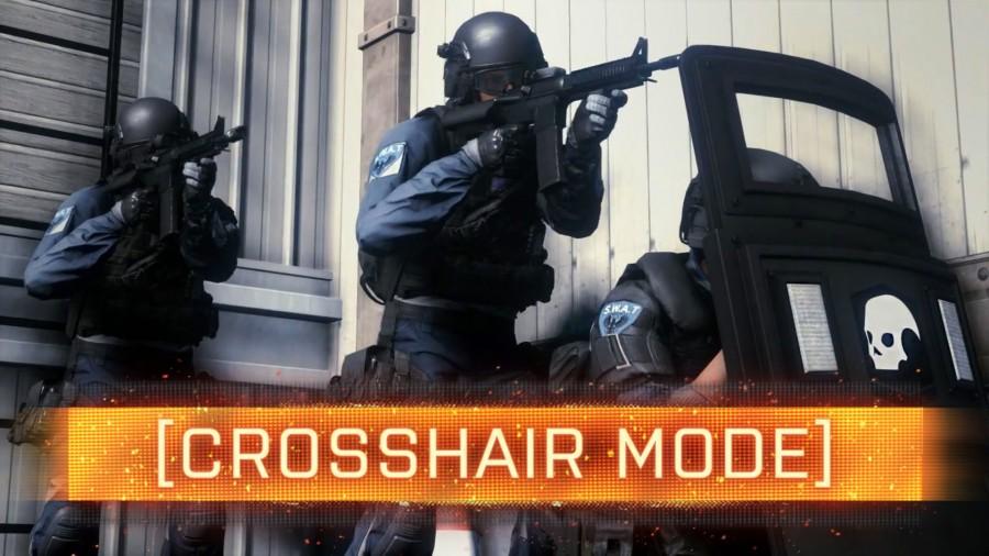 Battlefield : Hardline crosshair mode