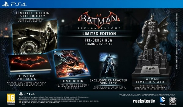 Batman : Arkham Knight - Limited Edition PS4