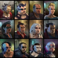 Shadowrun : Dragonfall - Personnages