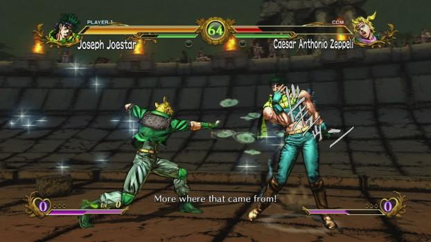 JoJo combat