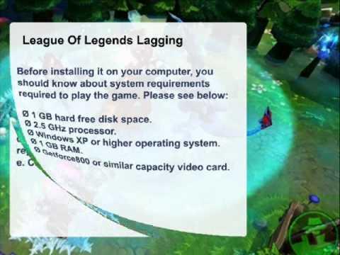 League of Legends Lagging