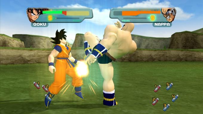 Dragon Ball Z Budokai - Nappa