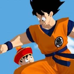 Dragon Ball Z Budokai - Goku et Gohan