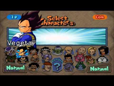 Dragon Ball Z Budokai - personnages