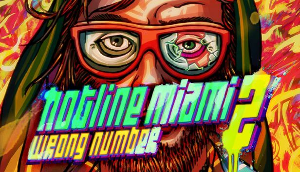 Hotline Miami 2 logo art