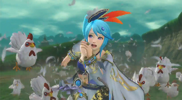 Hyrule Warriors poules Lana