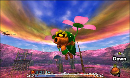 Zelda Majoras' Mask 3D- Link masque Mojo